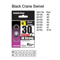 Black Crane Swivel