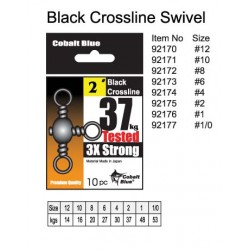 Black Crossline Swivel