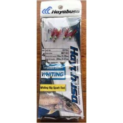 Hayabusa Whiting Rigs Twin Pac Spark Red