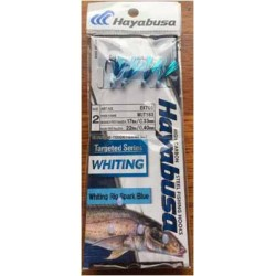 Hayabusa Whiting Rigs Twin Pac Spark Blue