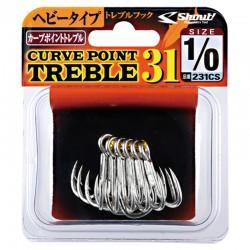 Shout Treble Hook 31