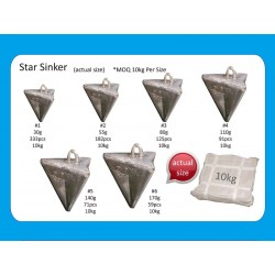 Bulk sinkers Star