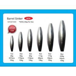 Bulk sinkers Barrel