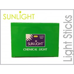 Sunlight Gel light stick 4.5mm Green 50pcs