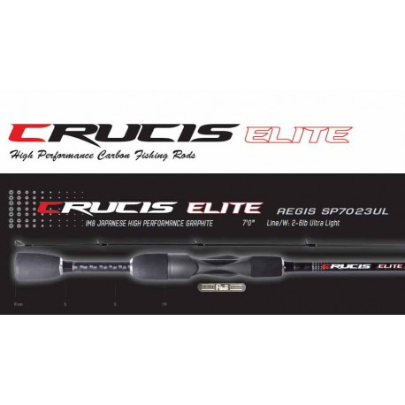 Crucis New Elite Series Rods