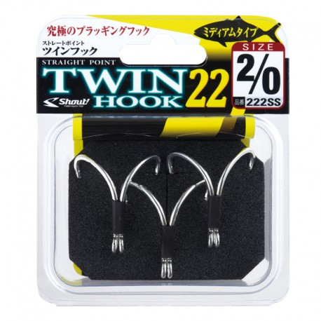 Shout 222 Straight Point Twin Hook