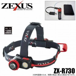 ZEXUS ZX-R730 1200LUMIN RECHARGEABLE HEADLAMP