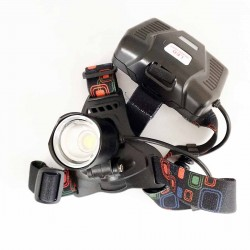 Super bright 1200 Lumin Headlamp w/18650 batteries-rechargable