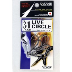 Sasame Hooks F301 Live Circle