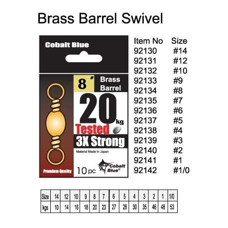 Brass Barrel Swivel