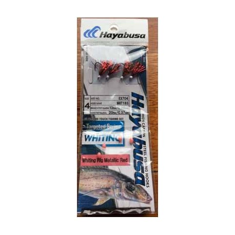 Hayabusa Whiting Rigs Twin Pac Metalic Red