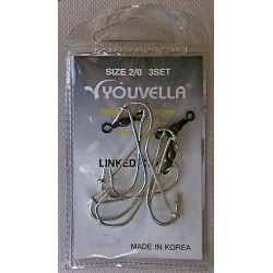 Youvella Gang Hook 3 sets Prepac