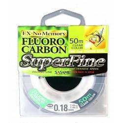 Sasame 50m Fluo Carbon Super Fine