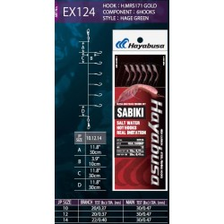 Hayabusa Sabiki EX124